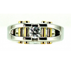 Architectural Diamond Ring Design