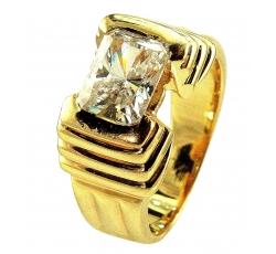 Pyramid Diamond Ring Design