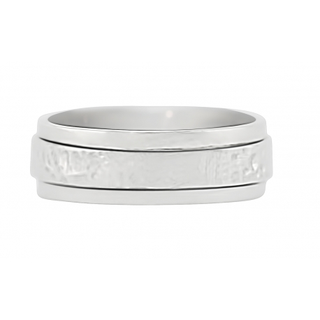 MARCO Double Band Men's Sterling Silver Ring 7.5mm