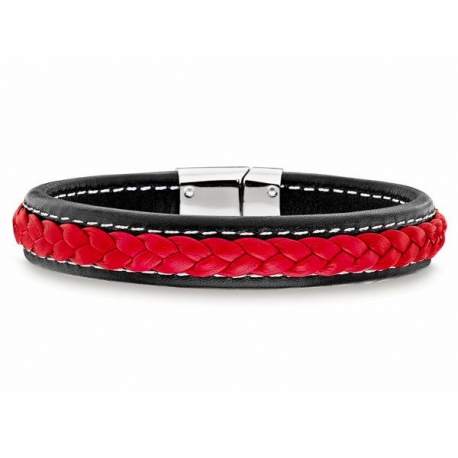 d18907ceaeb97 Sporty and Masculine Bracelet with a Rich RED Color.