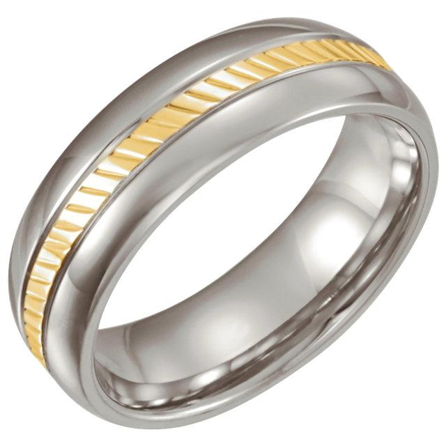 Stainless Steel Wedding Ring