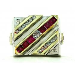 Signet Gemstone Ring