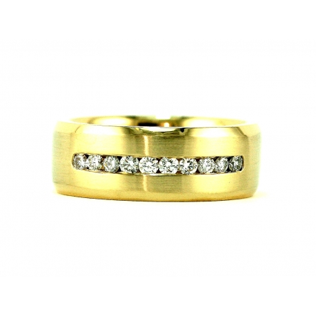 Xenon Channel Band Ring