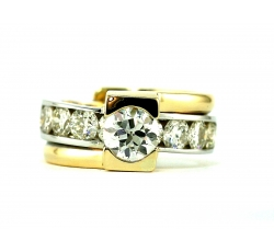 Triad Diamond Ring