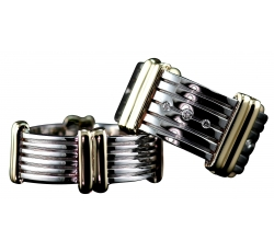 Fluted Diamonds Rings