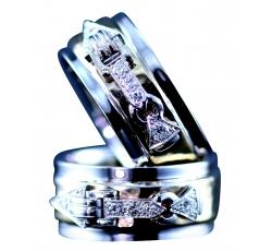 Family Diamond Wedding Band Rings