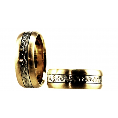 Engraved Band Rings