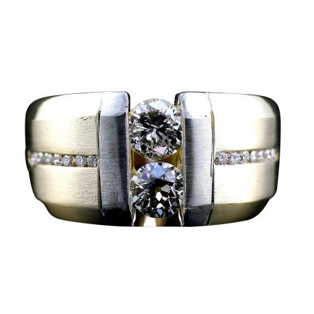 Double Diamond Tension Ring