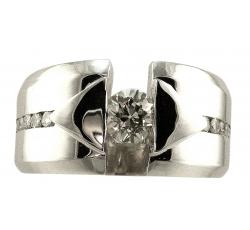 Diamond Modern Design Ring