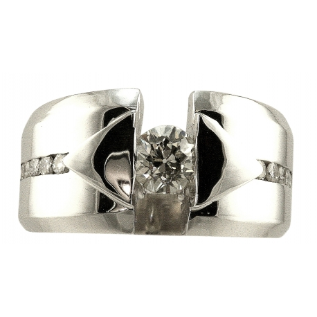 Diamond Modern Design Ring