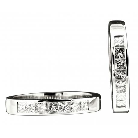 Quadrillion Diamond Band Rings