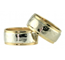Sovereign Texture Band Rings