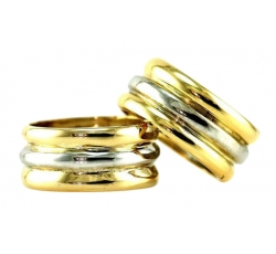 Triple Band Rings