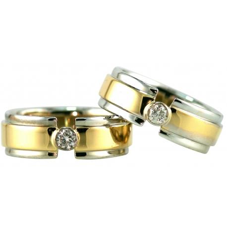 Paramount  Single Diamond Bezel Ring