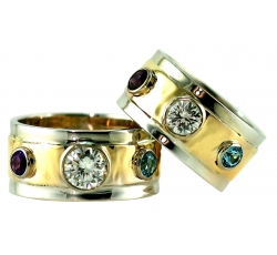 Sovereign Diamond and Birthstone Rings