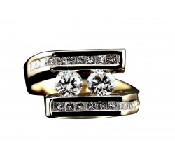 Symmetric Diamond Ring