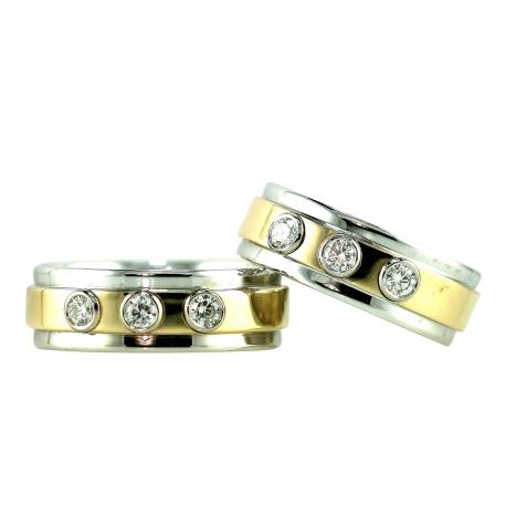 Trio Tower Rings