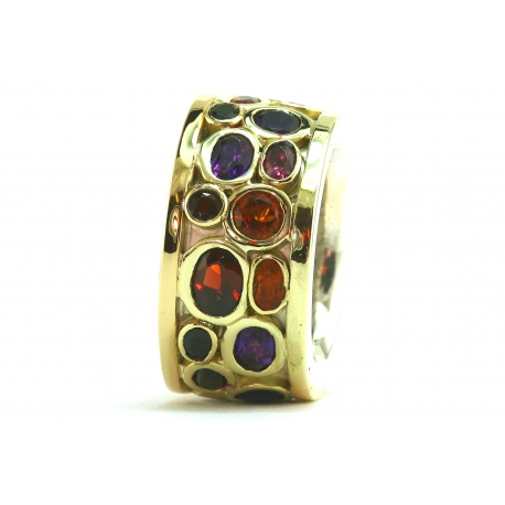 Miners Gemstone Ring