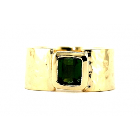 Etruscan Solitaire Ring