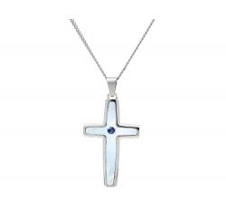 Azure Sapphire Cross