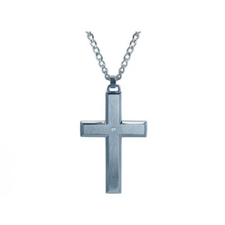 Stylish Diamond Cross