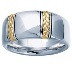 Geneva Gold Braid Ring